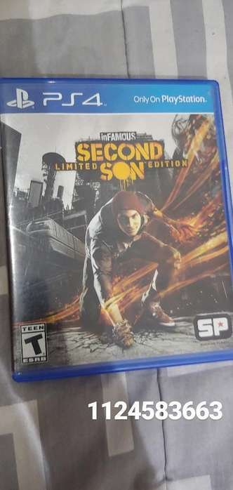 Infamous Second Son Ps4 Fisico