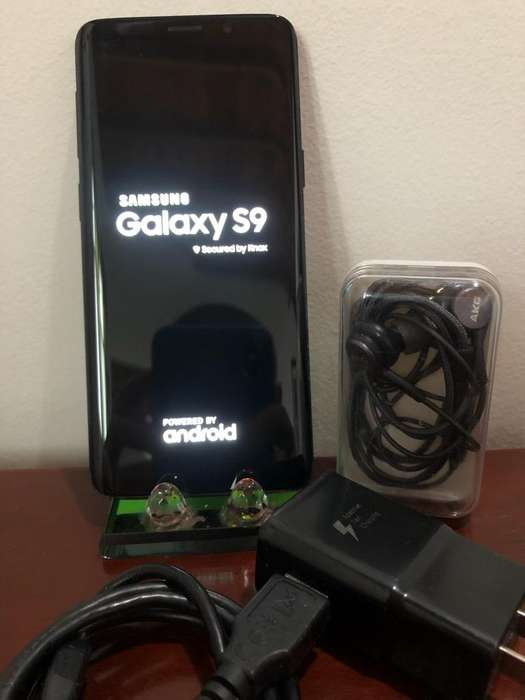 Samsung S9 Negro Perfecto Estado 64Gb