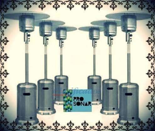 Alquiler de Calefactores, Estufas, Climatizacion, Hongo, Chinos, Sonido, Carpas, Livings
