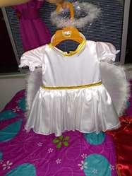 Disfraz de Angel Y Japonesa Niña