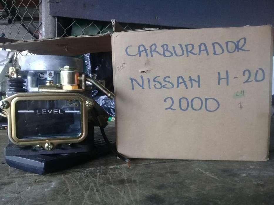 Carburador Nissan H-20/2000 Usd 120 Nego