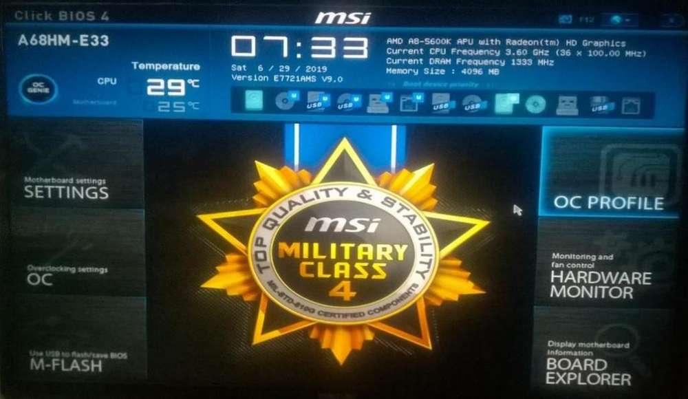VENDO CPU AMD A8-5600K DE 3.6GHZ