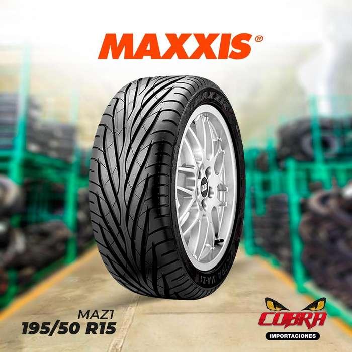 <strong>llantas</strong> 195/50 R15 MAXXIS MAZ1