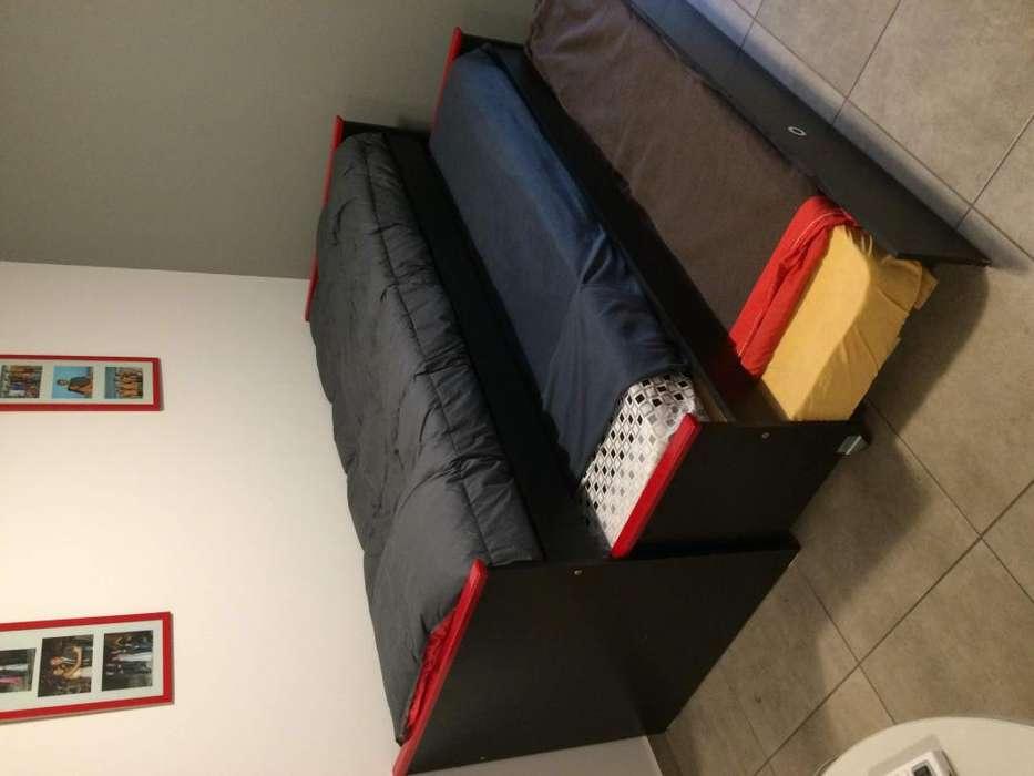 Cama nido 3 niveles con colchones