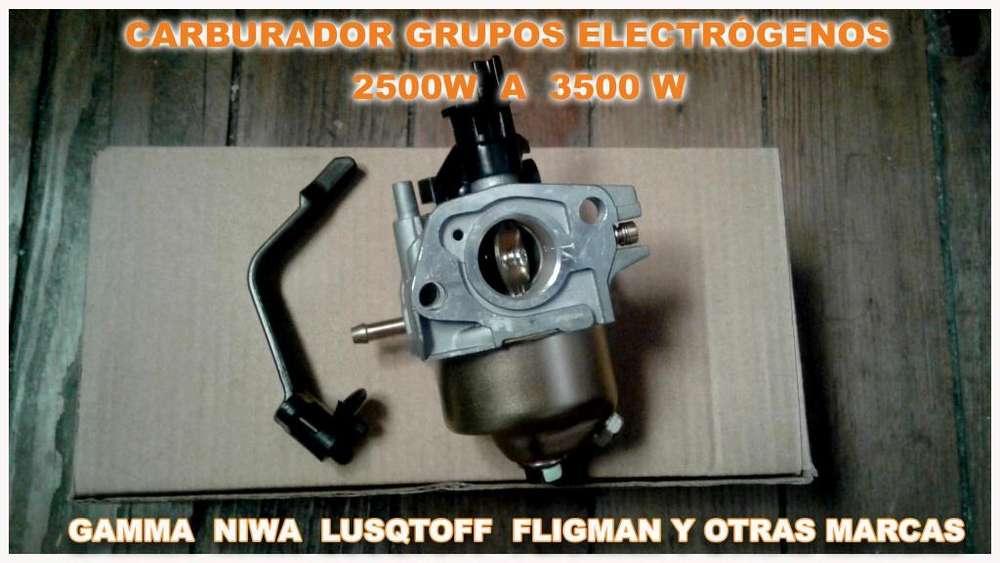Carburadores Grupo Electrogeno 2500/3500 Gamma Niwa Shimura