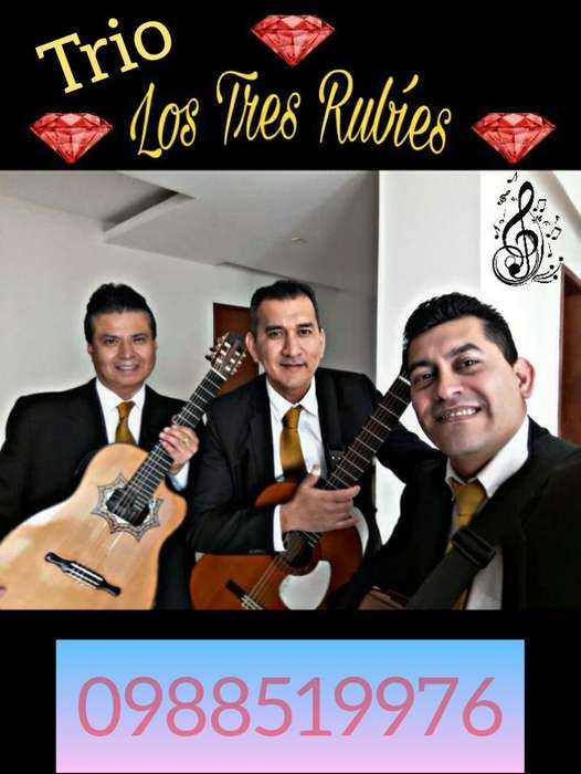 TRÍO LOS TRES RUBÍES <strong>artista</strong>S PROFESIONALES/ SHOW VERSÁTIL 0992874469 QUITO