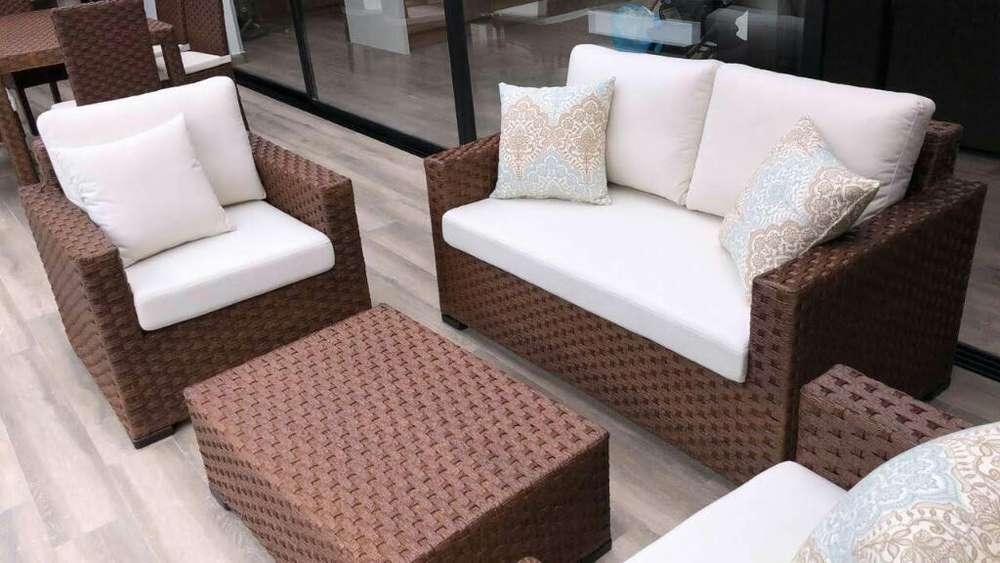 Muebles de Fibra Rattan