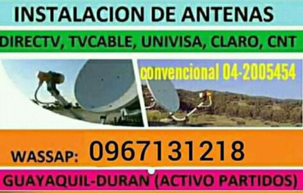 Servicio Técnico Satelital Directv