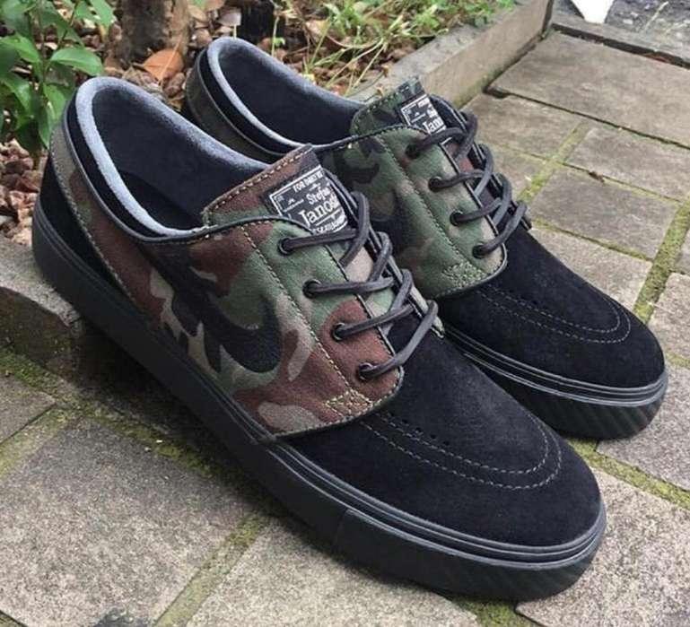 Zapato Nike Janoski Verde Nuevos