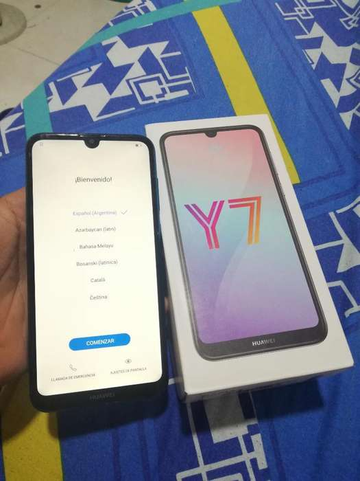 Vendocambio Huawei Y7 2019 con Caja