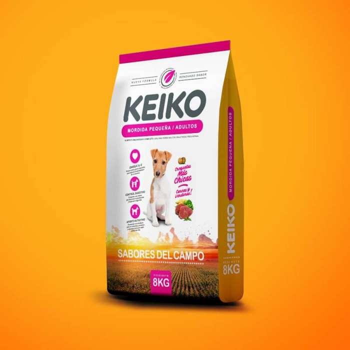Keiko razas pequeñas 8 kg