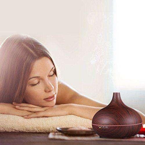 Humidificador Difusor De Esencias Aromaterapia 300ml