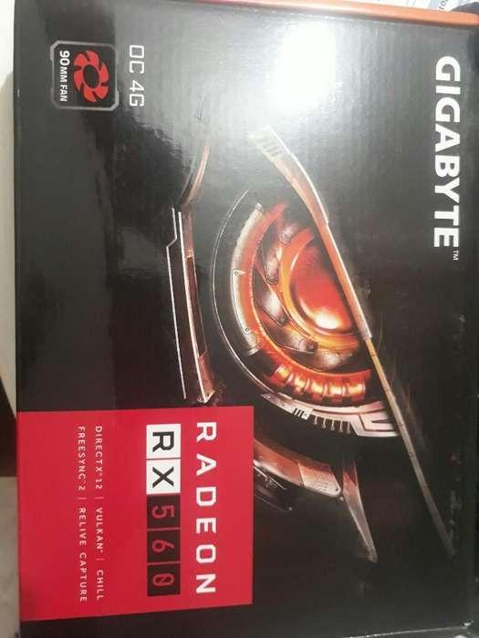 Tarjeta Video Radeon Rx 560 Oc 4gb