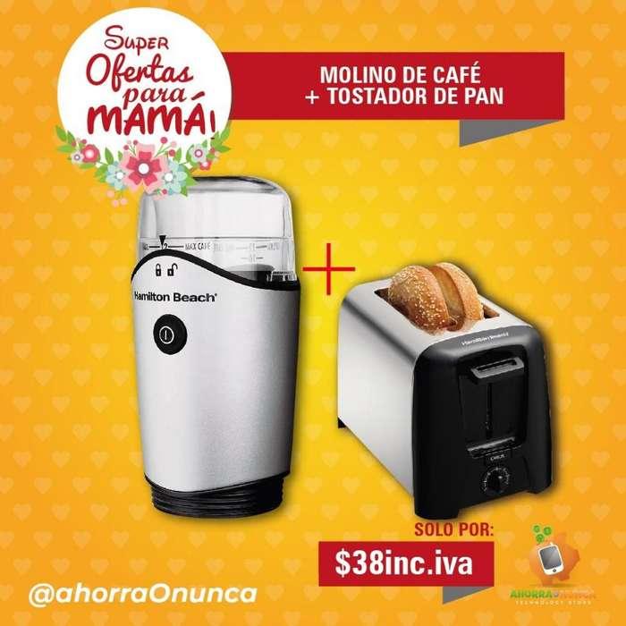 MOLINO DE CAFÉ MAS <strong>tostadora</strong>. HAMILTON BEACH