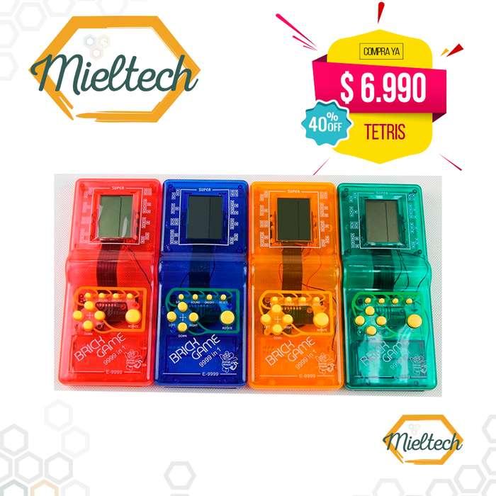 Tetris Videojuego clasico retro atari