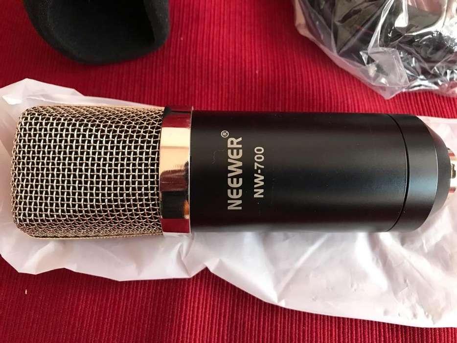 Vendo Microfono Semiprofecional
