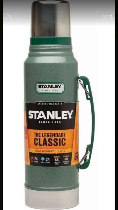 Termos Stanleyclasic 1litro Verde