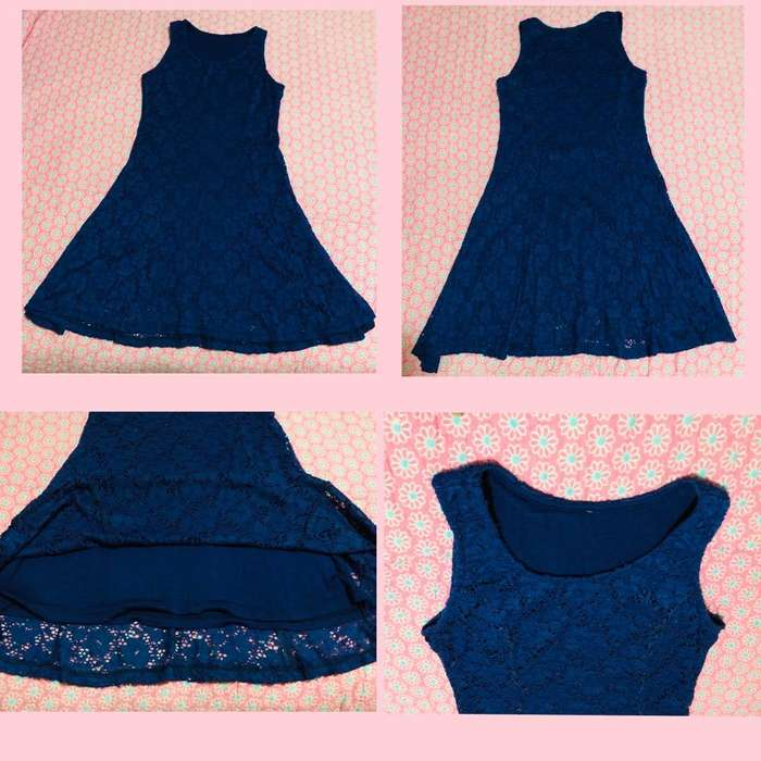 Vendo Vestido Color Azul Marino