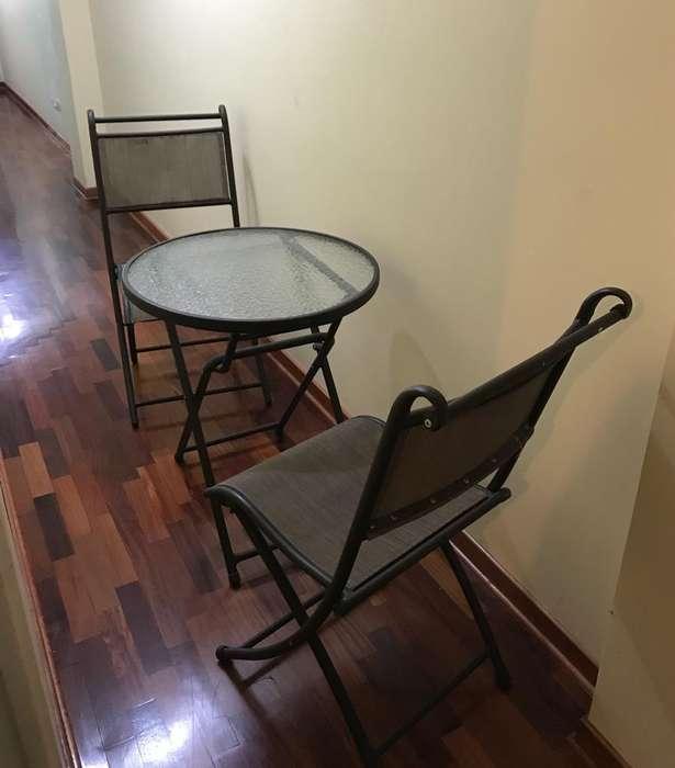 Terrazas mesa y sillas