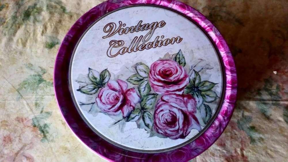 Antigua lata de galletitas Danesas Vintage Colección