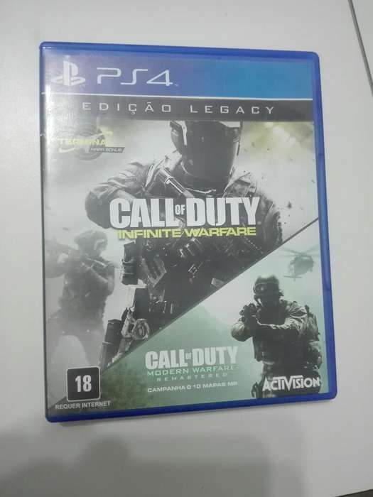 Call Of Duty Infinite Warefare Ps4 Usado