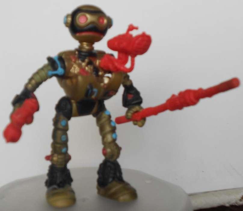 Vintage 1988 Coleccionable Fujitoid Tortuga Ninja