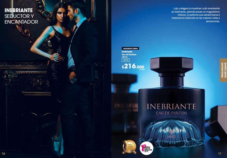 INEBRIANTE perfume HINODE