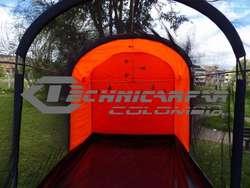 TUNEL PARA PAINTBALL CARPA TUNEL DE TIRO AL BLANCO
