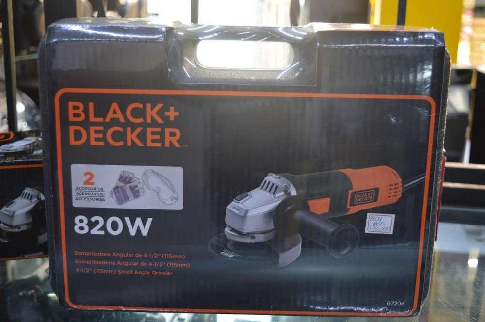 Pulidora Black & Decker Nueva con Estuche y accesorios