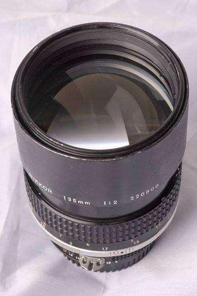 Lente Nikon Nikkor 135mm f2 Ais Manual