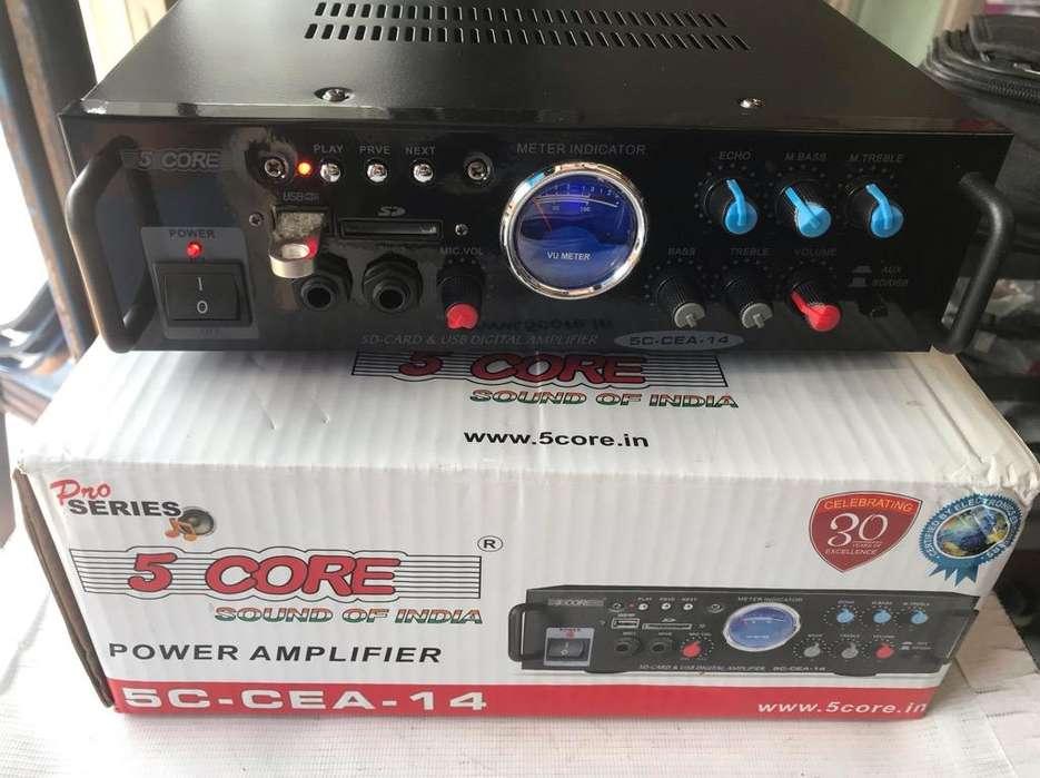 Amplificador Perifoneo Potencia sonido