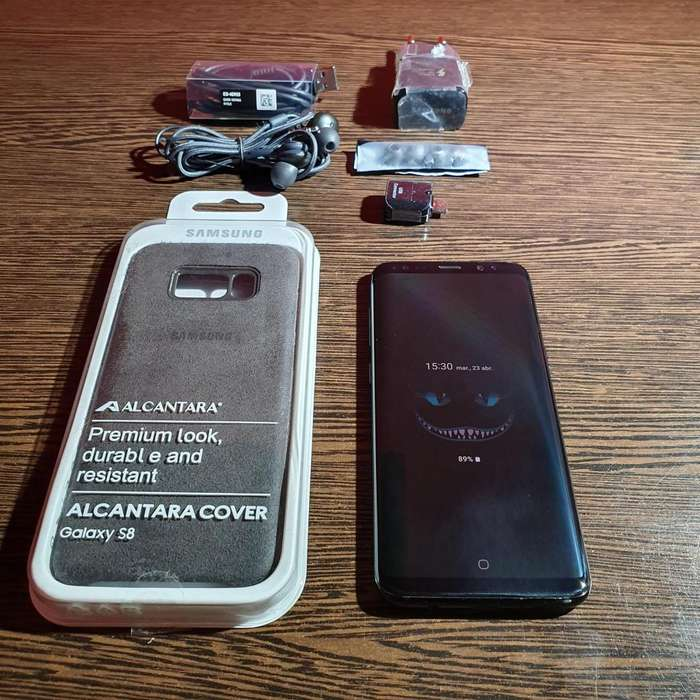 ESCUCHO OFERTAS RAZONABLES Samsung S8 64gb
