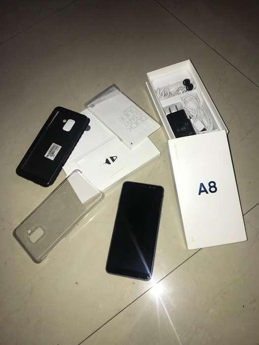 Samsung A8 2018 Como Nuevo
