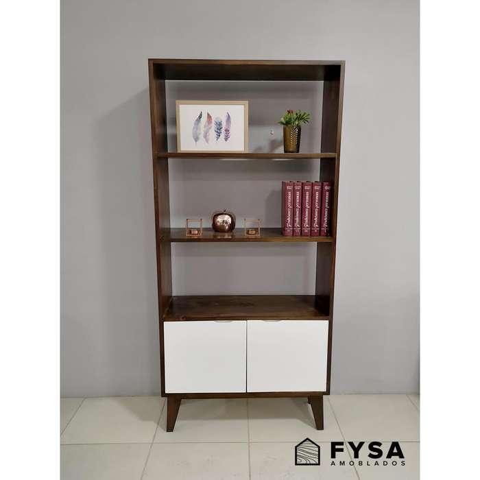 Mueble Estante Librero para Dormitorio, Sala, <strong>comedor</strong> Wooden