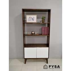 Mueble Estante Librero para Dormitorio, Sala, Comedor Wooden ...