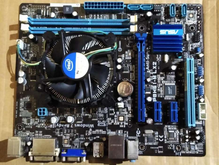 COMBO Board 1155 - CPU Core I5 - RAM 4 GB