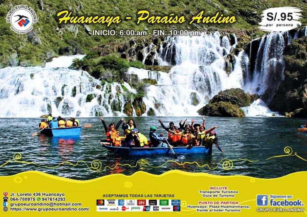 FULL DAY - HUANCAYA (PARAÍSO ANDINO)