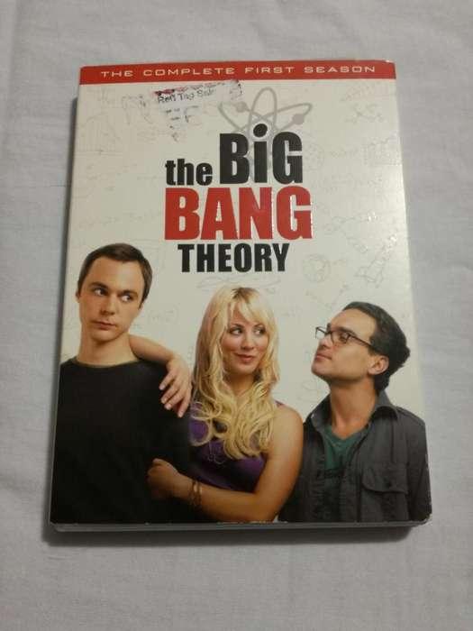 the big bang theory 1ra temporada casi nuevo