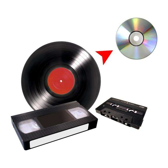 Copiamos de Vhs Betamax cassette Y Lp a Cd O <strong>dvd</strong> o usb