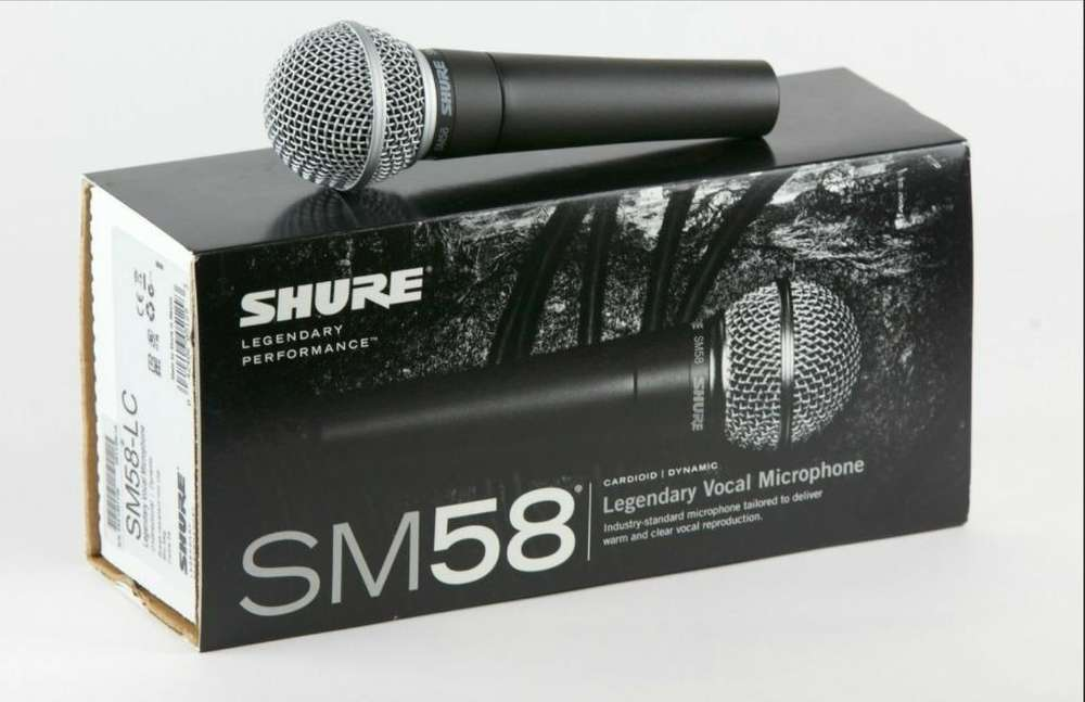 Microfono Shure Original Sm58