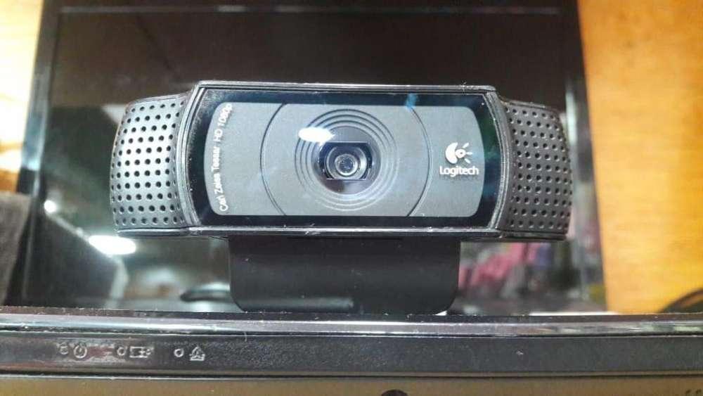 cámara web logitech c920