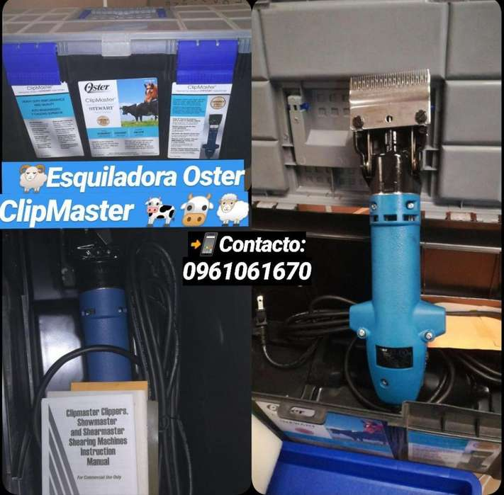 ESQUILADORA OSTER CLIPMASTER TLF: 0961061670