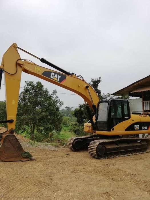 Vendo excavadora Caterpillar 320D