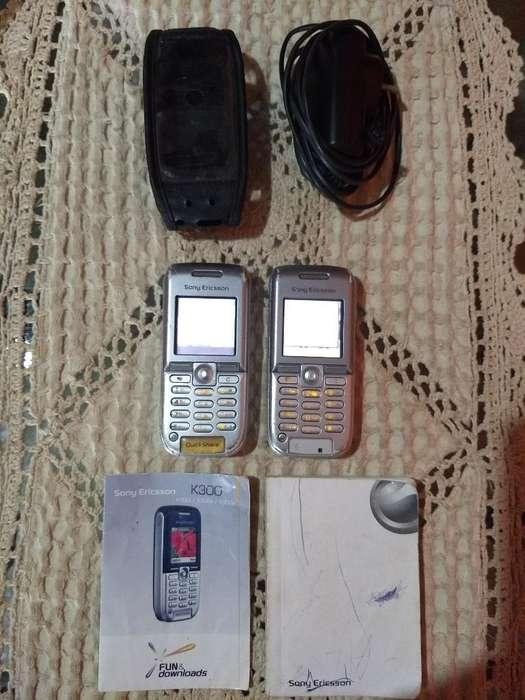 Dos Celulares Sony Ericsson de Movistar