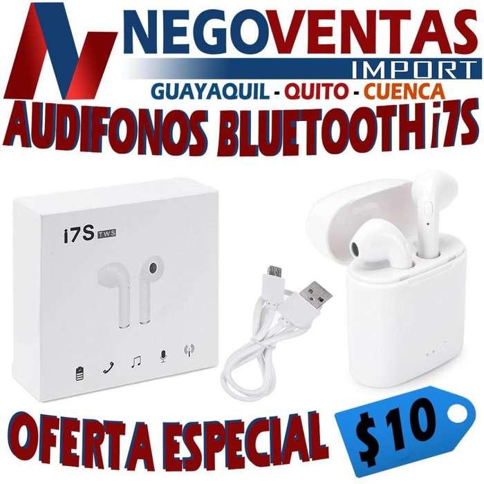AUDIFONOS BLUETOOTH I7S S