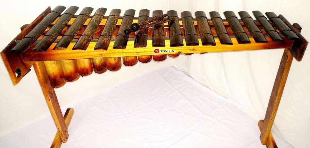 marimba de chonta de 16 notas