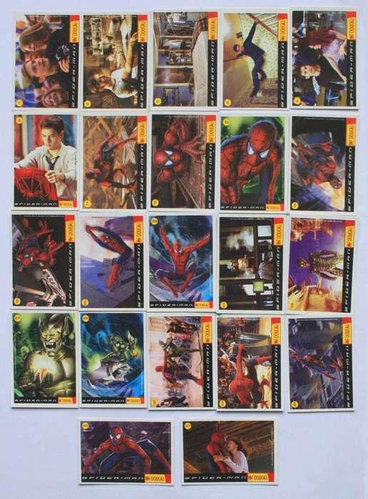 Lote Tarjetas Spiderman Mcdougal Cards
