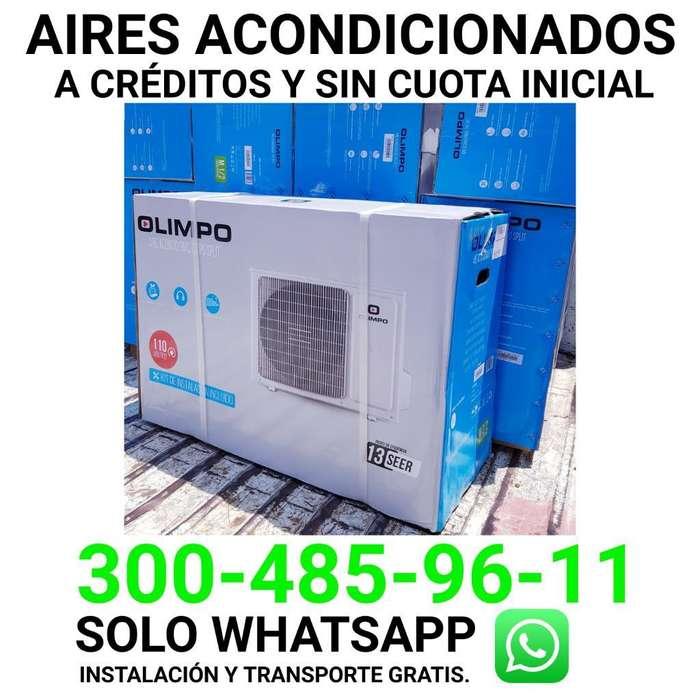 Aires Acondicionados 12000btu a Créditos