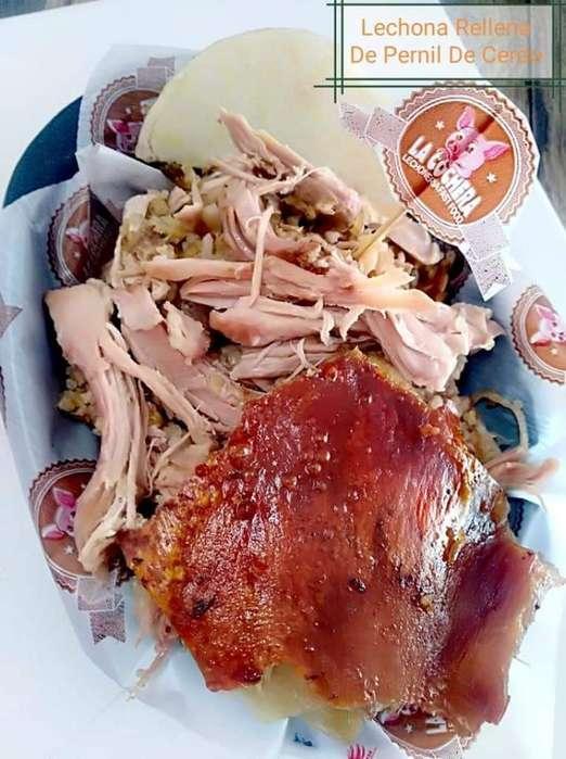 Lechona Desengrasada 80% Carne