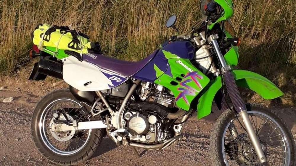<strong>kawasaki</strong> KLR 650 cc impecable!!!